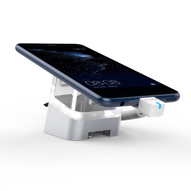 Suporte de segurança de exibição de telefone celular de controle remoto IR